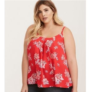 Floral Pleated Cami